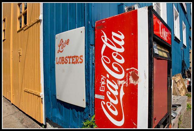 Nova Scotia; Lunenburg; Lobster; Coke; Coca-Cola
