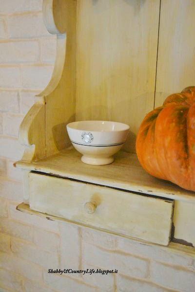Tra vecchie patine e zucche.. My Autumn Decor Home - shabby&countrylife.blogspot.it