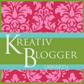 Kreativ Blogger Award Presented by LA LYNN