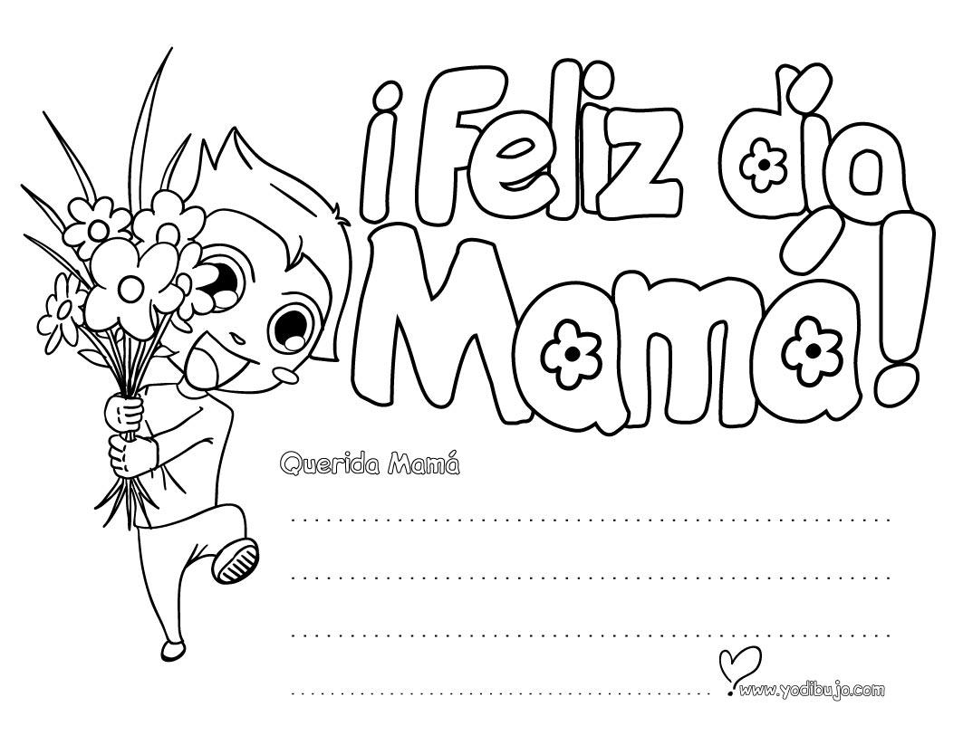 Dorable Día De Las Madres Para Colorear Páginas Abuela Ornamento ...