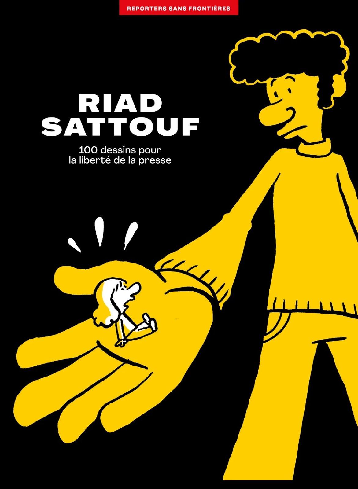 Riad Sattouf : 120 dessins pour la liberté de la presse
