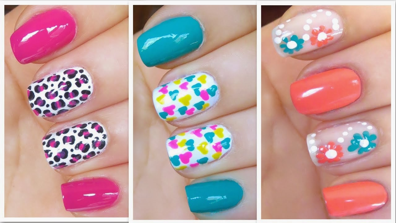 All About Our Passion: Some Cool And Amazing Nail Art Designs...
