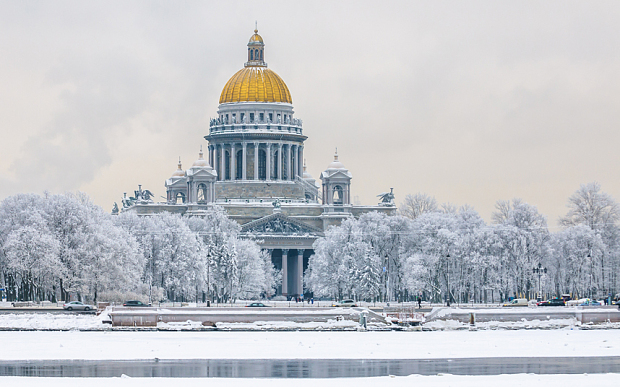 St Petersburg in winter: Like stepping into a Russian novel