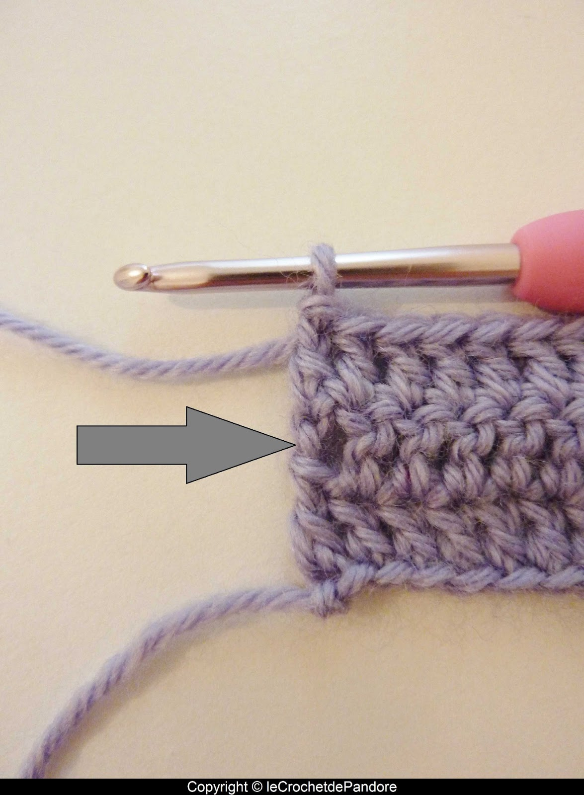 Tutoriel crochet maille en l 39 air - Crochet maille en l air ...