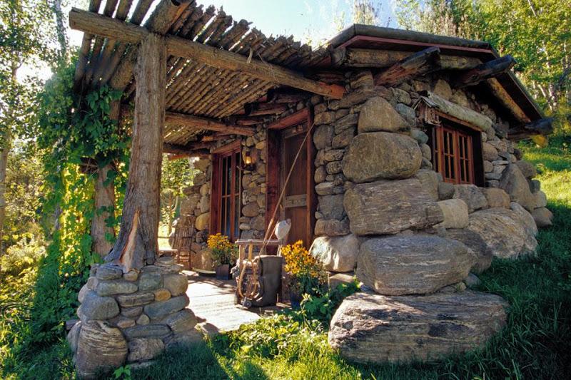 Small Stone Rustic Cabins