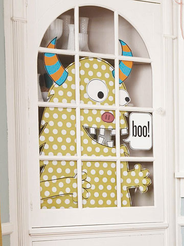Ideas para decorar puertas en halloween blog atendiendo for Puertas decoradas de halloween