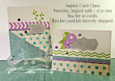 Order Your August Card Kit