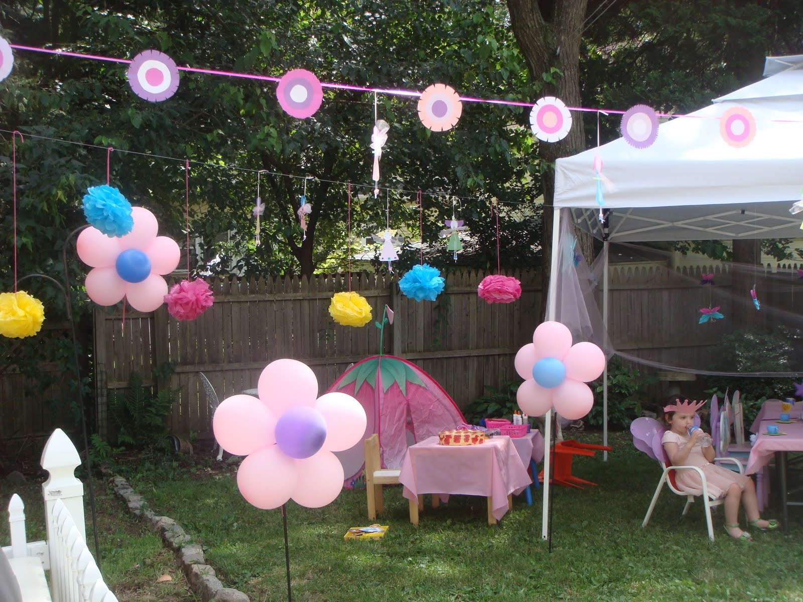 crafts parties fairy party decorations