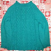 Sweater for Recycling Yarn