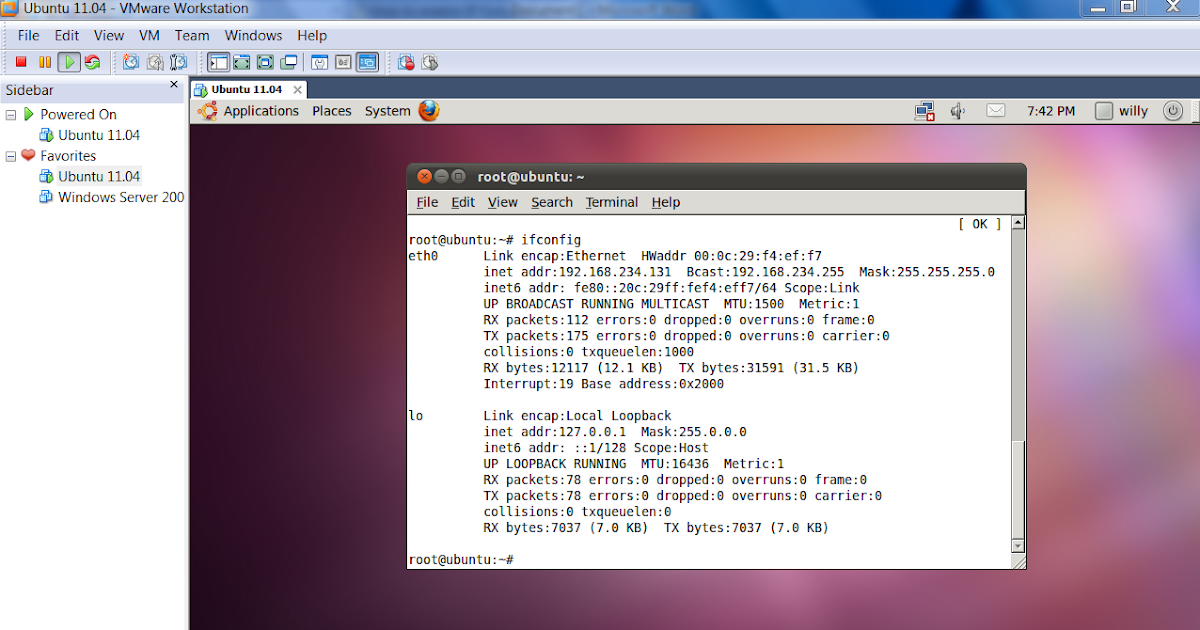 Willy Ristanto's Blog: Konfigurasi IP Address di Ubuntu