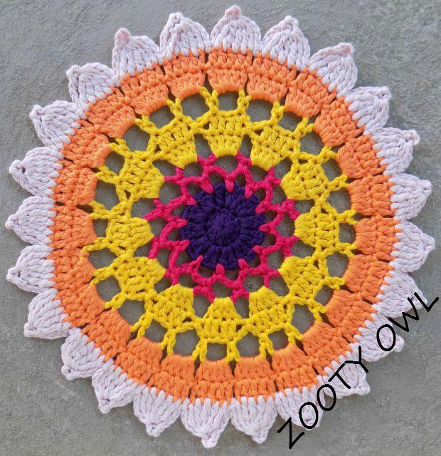 sunflower mandala