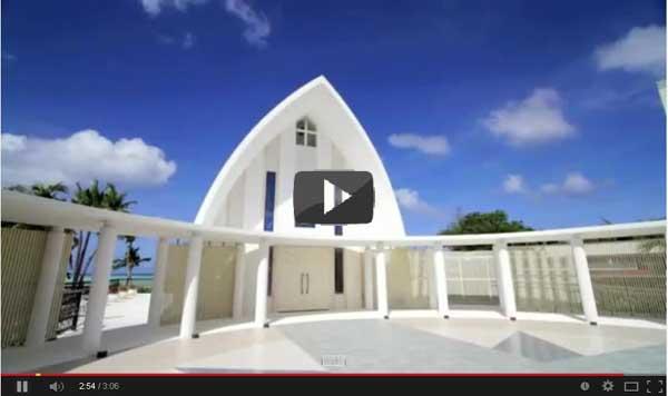 St Maria Arena Chapel in Guam