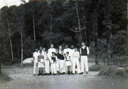 A rare photo of Victoria Boys School