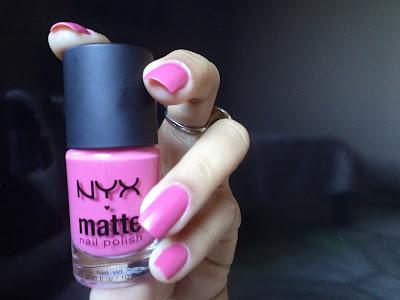 Unhas Pink Matte