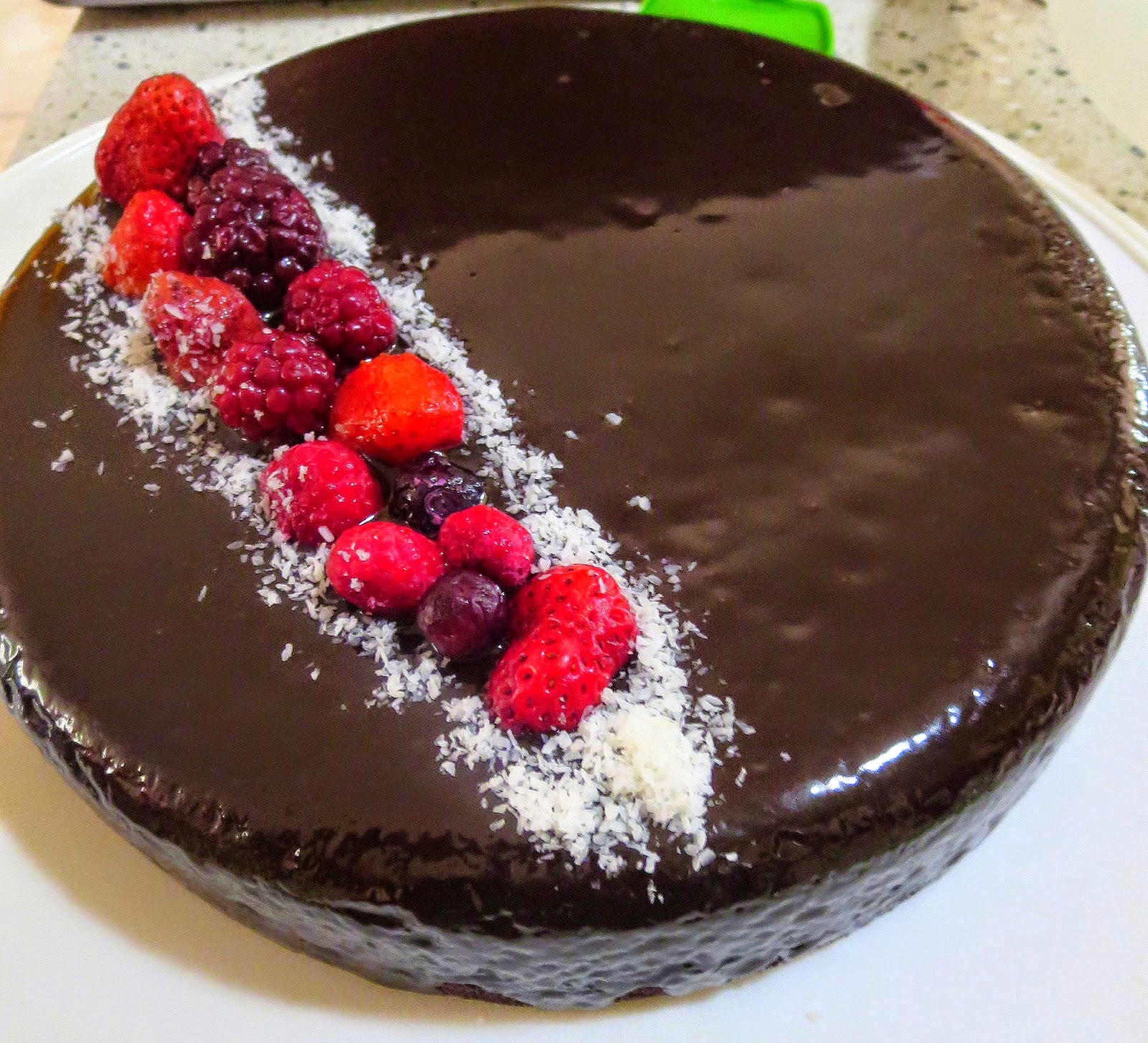 House in Tillford Recipe Simple Chocolate Cake with a Fancy Finish