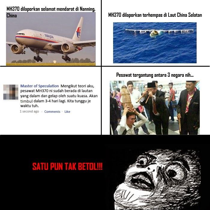 spekulasi, kehilangan pesawat, MH370