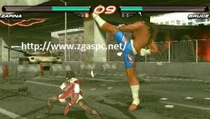 Free Download Tekken 6 ISO PSP Untuk Komputer Full Version  ZGAS-PC