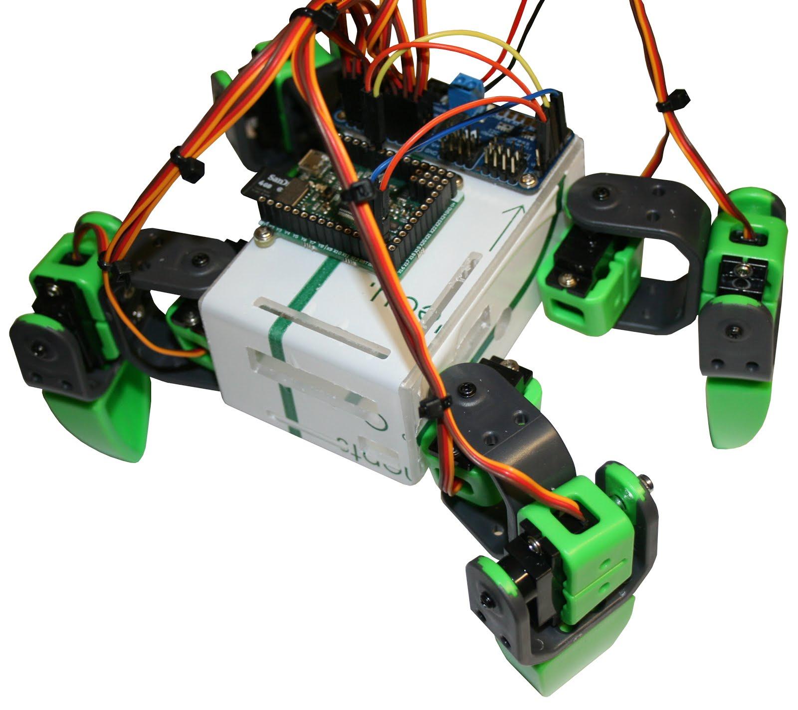 doggy un robot 4 pattes 8 servos pour arduino micropython et raspberry pi mchobby le blog. Black Bedroom Furniture Sets. Home Design Ideas