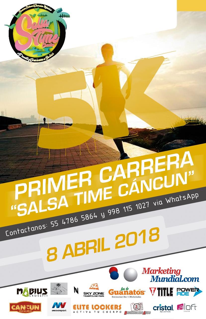 "Primera Carrera ""Salsa Time Cancún"""