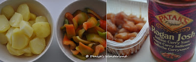 Curry Chicken with Bell Peppers & Potato
