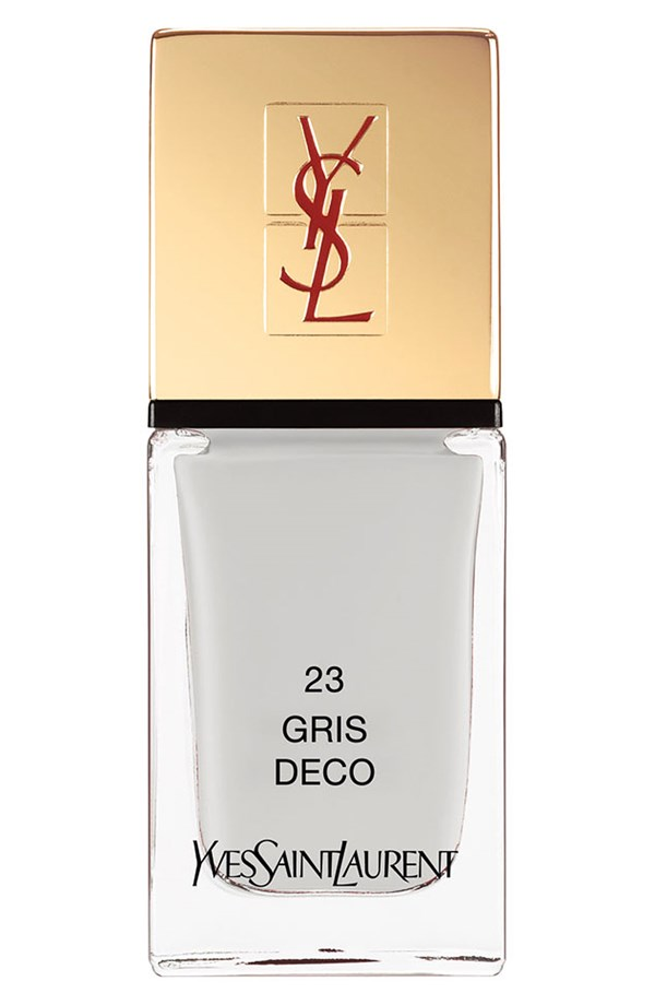 YSL Nail Lacquer in Gris Deco