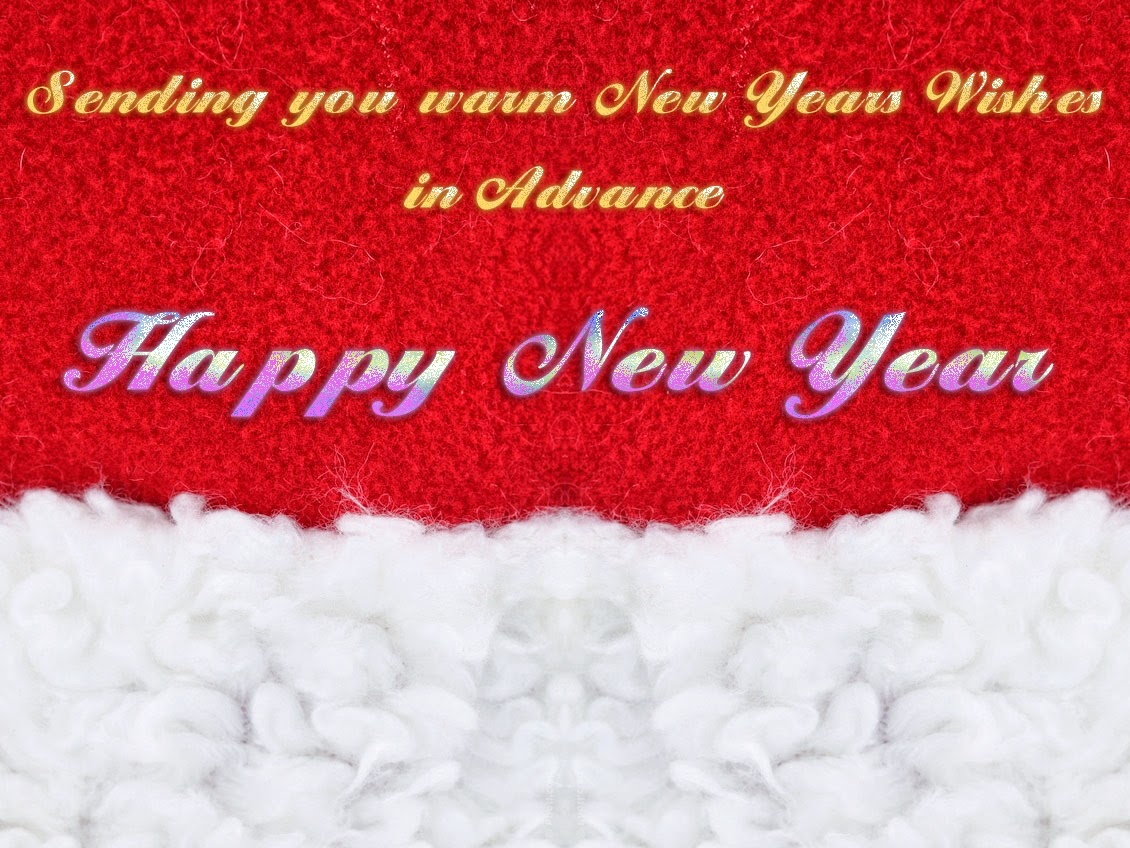 Happy New Years Advance Wishes 2015 Cards Wallpapers