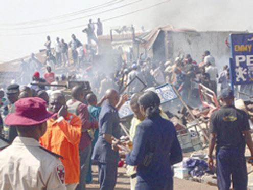 boko haram destroyed catholic churches