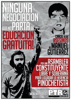 CHILE: NINGUNA NEGOCIACIÓN QUE NO PARTA DE LA EDUCACIÓN GRATUITA