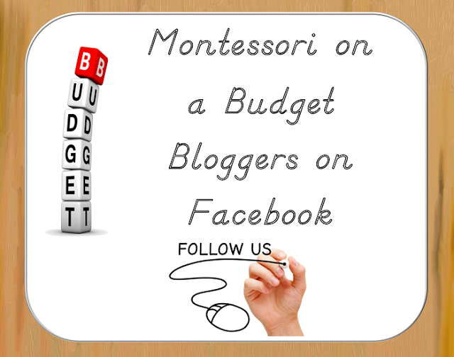 Follow Montessori on a Budget Bloggers on Facebook