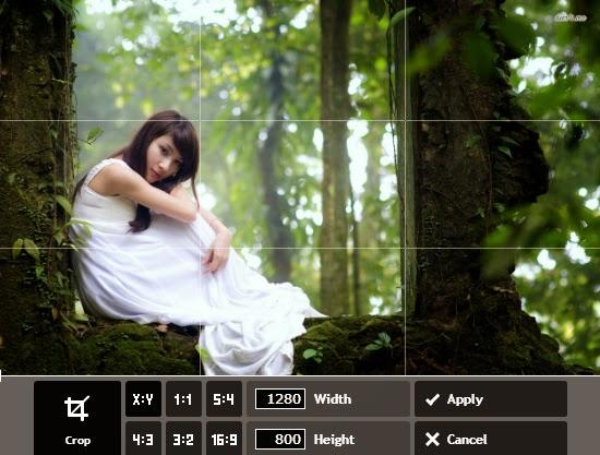 Memotong Gambar Online