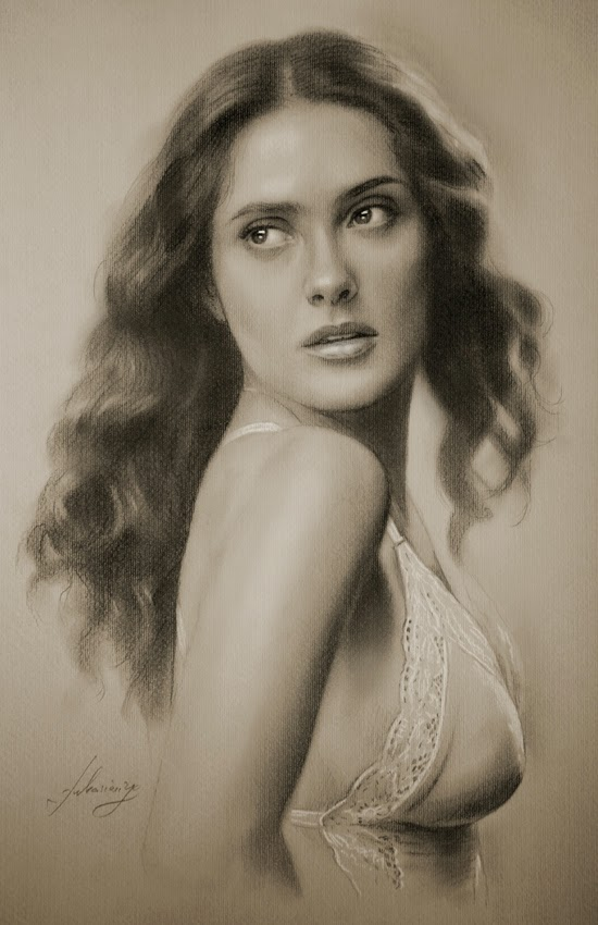 09-Salma-Hayek-krzysztof20d-2b-and-8b-Pencils-Clear-Pastel-Celebrity-Drawings-www-designstack-co
