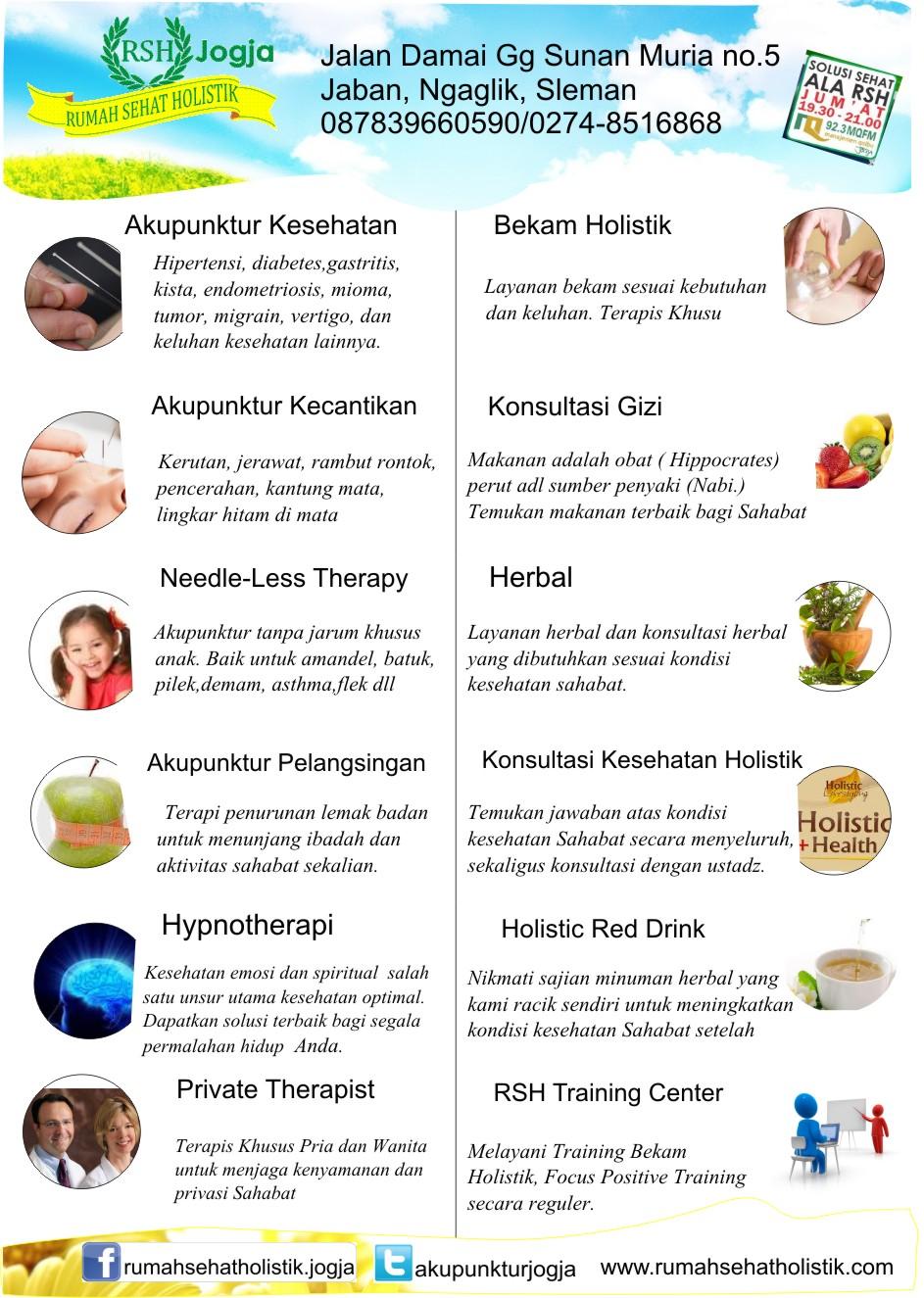 Terapi Reguler Rumah Sehat Holistik Jogja ~ Klinik ...