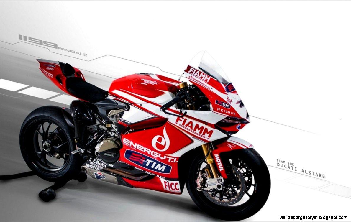 Ducati Superbike 1199 Yellow Color Wallpaper Desktop  Free High