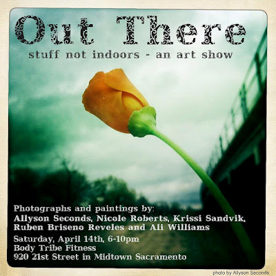 """Out There"" stuff not indoors – an art show"