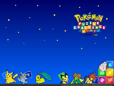 pokemon_puzzle_challeng... Wallpapers