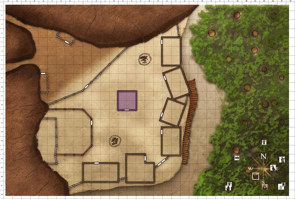 Combat Map Turn 31