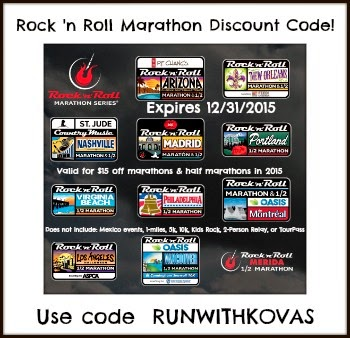 Rock 'n' Roll Race Series Discount!