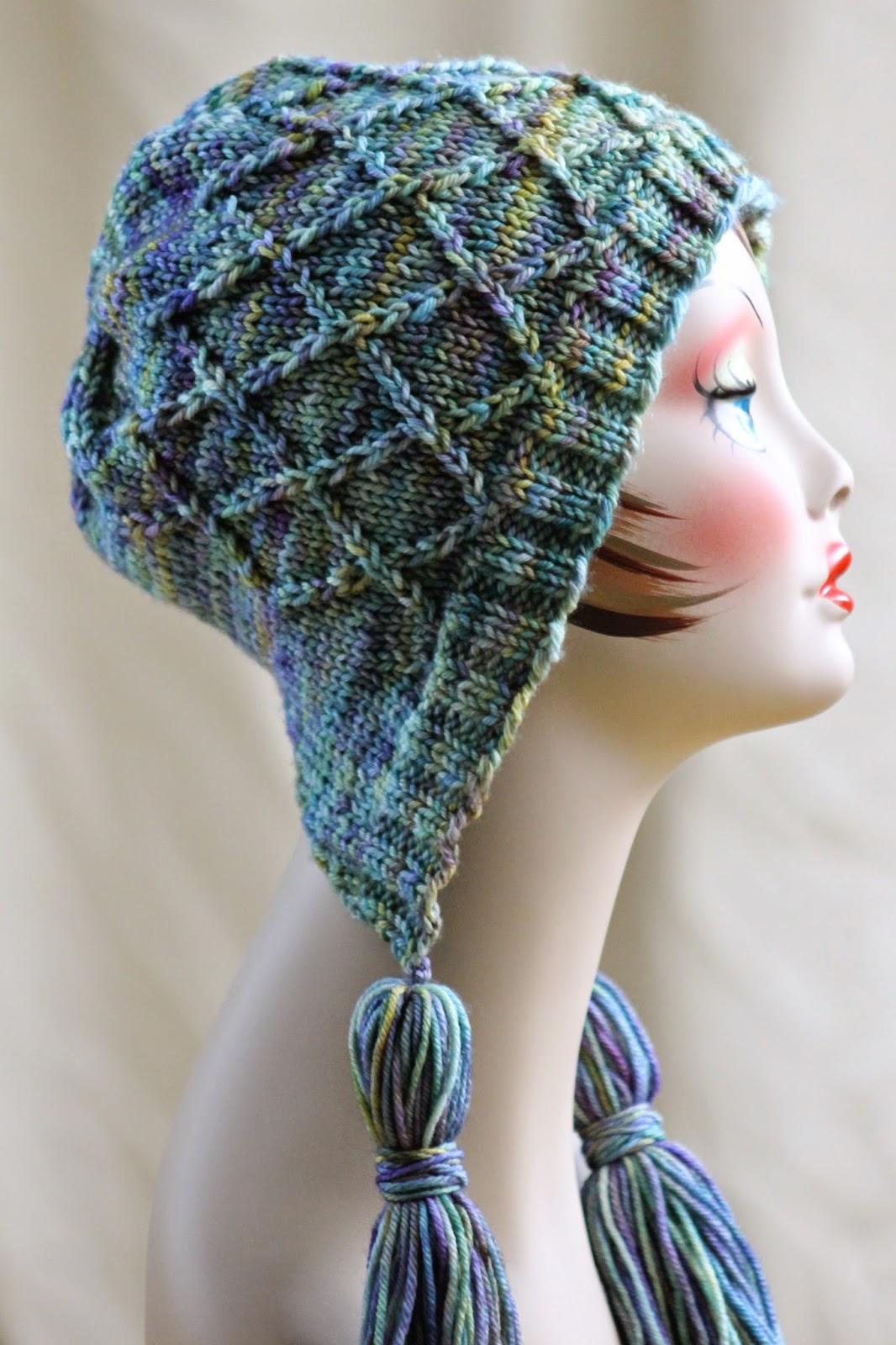Knitted Dog Jumper Pattern : Balls to the Walls Knits: Iris Bloom Bonnet