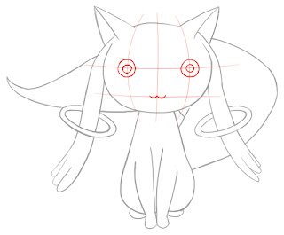 How To Draw Kyubey Step 7