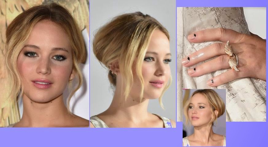 Jennifer Lawrence, The Hunger Games Mockingjay Part 1 Premier, Jennifer Lawrence nipslip