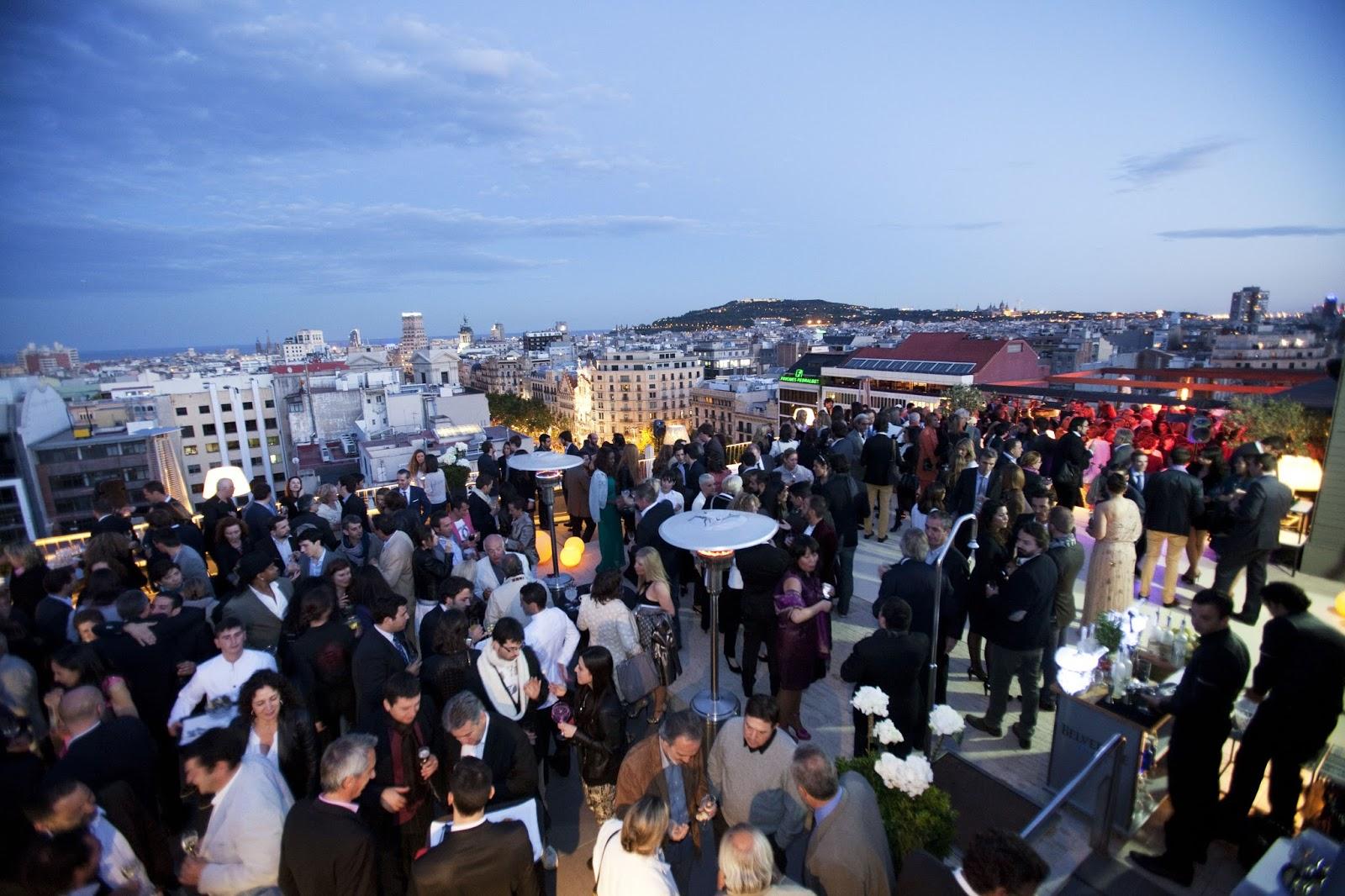 La renovada terraza La Dolce Vitae del hotel Majestic da la ...