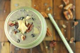 Picture of cacao cinnamon pecan smoothie