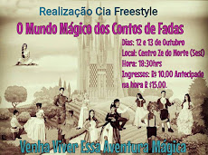 O MUNDO MÁGICO DOS CONTOS DE FADAS. 12 E 13/10. CENTRO CULTURAL ZÉ DO NORTE. 18H30