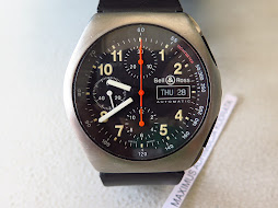BELL & ROSS CHRONOGRAPH MILITARY - TITANIUM CASE - AUTOMATIC