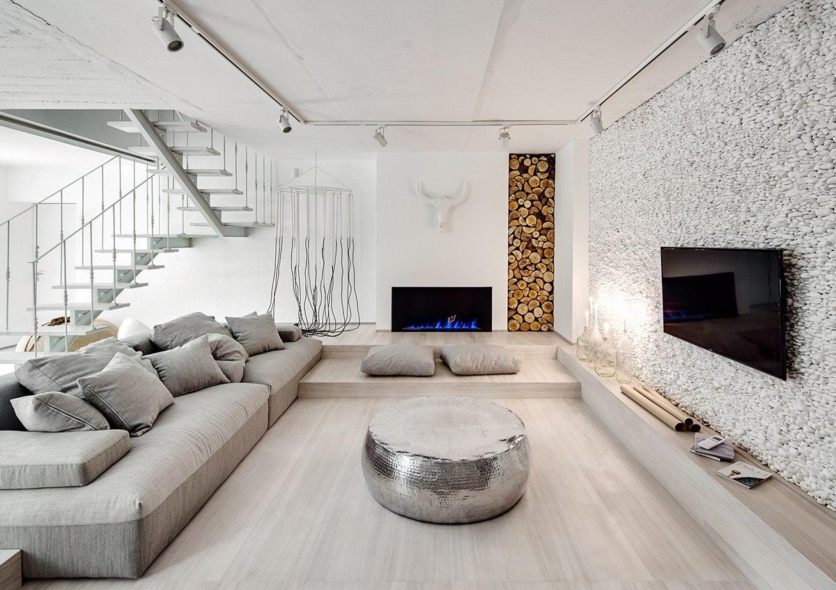 Білий будинок form architectural bureau ІНТЕР ЄР ПО УКРАЇНСЬКИ