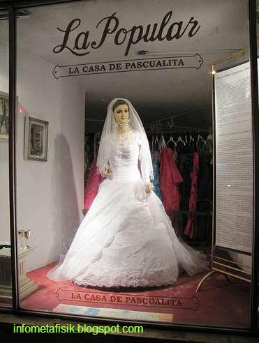 Misteri La Pascualita, Manekin Pengantin yang Bisa Hidup Saat Malam