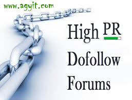 High PR Dofollow Forum Lists For 2016
