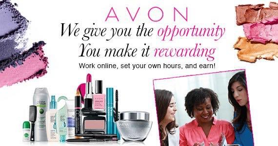 Become an Avon Representative Today!