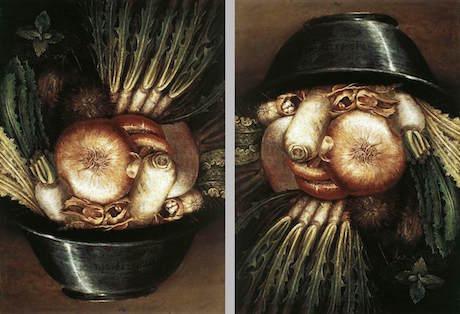 Art Talk - foredrag om kunst. Arcimboldo: Grøntsager i en skål eller Gartneren (ca. 1590)