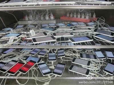 Prueba de múltiples iPhone 5C